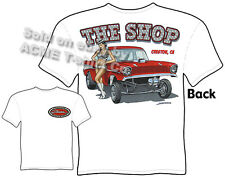 1957 Chevy Gasser T Shirt 57 Chevrolet Clothes Vintage Drag Race Apparel Classic