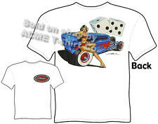 Hot Rod Shirts 1932 Vintage Ford T Shirts 32 Sedan Pin Up Tee Sz L