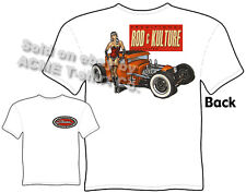 1930 1931 Ford T Shirt Hot Rod 30 31 Coupe Apparel Pinup Tee Rat Rod & Kulture