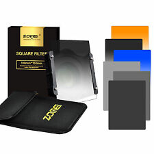 150*100mm ND248 Neutral Density Square Filter+Holder+67/72/82mm Ring for Cokin Z