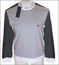 Bnwt Mens French Connection Long Sleeved T Shirt Top Grey New Fcuk