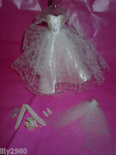 VINTAGE #972 BARBIE WEDDING DAY SET N/COMPLETE EXC. COND. DOLL RARE HTF L@@k