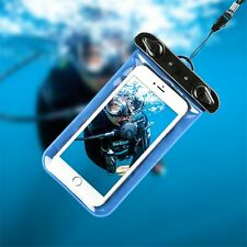 Waterproof Underwater Pouch Dry Bag Touchscreen Case Cover For iPhone Cell Phone