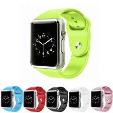 Smart Wrist Watch Bluetooth GPRS GSM SIM TF Slot For Android Samsung iPhone iOS