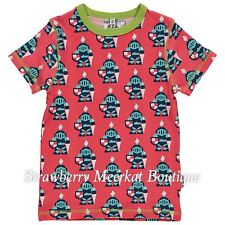New SS16 Maxomorra Knight Short Sleeved T Shirt Top 134 140/ Age 9-10 *LAST ONE*