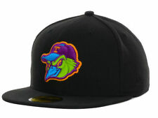 Toledo Mud Hens New Era MiLB Multipop 59FIFTY Fitted Cap NWT (Black) Sz 7 1/4