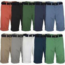 "MENS KNEE LENGTH CHINO SHORTS CASUAL COTTON PANTS SUMMER BOTTOMS SIZE W 28""-40"""