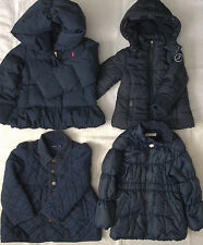 Navy Blue Girl Size 2-3-4-5 Outerwear Jacket Winter Coat Ralph Lauren Jacadi H&M