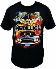 Metallica Band T-Shirt Give Me Fuel Give Me Fire New Rock Tee Free Shipping