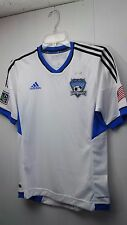 Adidas San Jose Earthquakes Replica Home Jersey MLS Style X10304 MSRP $80