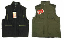 MEN'S FISHING, SHOOTING, HUNTING PADDED BODYWARMER WAISTCOAT GILET JACKET S- 2XL