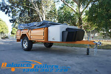SOFT TOP OFF ROAD CAMPER TRAILER WITH INDEPENDENT SUSPENSION