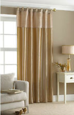 Embroidered Sequin Taffeta Tab Top Panel Replacement Curtain 145cm x 228cm