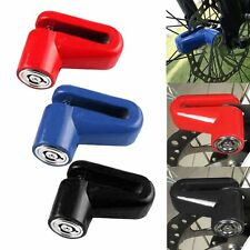 3Color Scooter  Bicycle Motorcycle Safety Anti-theft Disk Disc Brake Rotor Lock