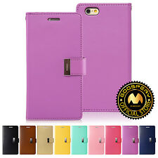 GOOSPERY® Rich Diary Wallet Case Cover Tri-Fold for Apple iPhone 6 Plus 6S Plus