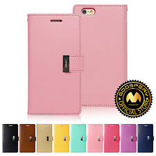 GOOSPERY® Rich Card Diary PU Leather Wallet Case Cover for Apple iPhone 6 6S