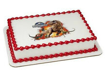 Jurassic World edible image custom cake topper frosting sheet icing #58210