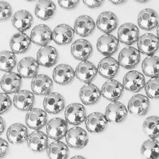 Wholesale 500pcs Round Silver Alloy Loose Spacer Beads DIY Jewelry Making Repair