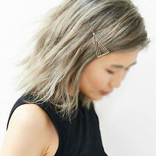 Women Girls Triangle Hair Clip Delicate Hair Pin Hair Decorations Jewelry DH