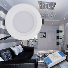1PC Round Bright LED Recessed Ceiling Panel Light Bulb Lamp 85-265V 12W BN