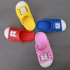 Children Garden Shoes Boys Girls Summer Slippers for Kids Baby Sandals 4 Color B