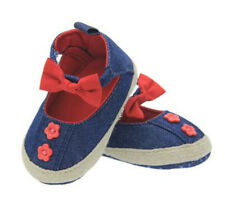 Infant Toddler Baby Shoes Girls Summer Sandals Moccasins Crib Shoes Jean ALS203