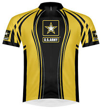 Primal Wear US Army Team II Cycling Jersey Men's Short Sleeve with DeFeet Socks