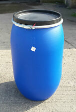 220 Litre Open Top Plastic Barrel, Keg, Drum Over 100 plus in stock