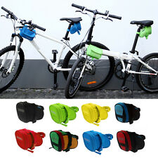 Outdoor Cycling Bike Bicycle Seat Saddle Rear Seat Bag Tail Pouch Storage BG
