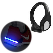 Bright Luminous LED Shoe Light Clip Warning Lamp fits Night Walking Running BG