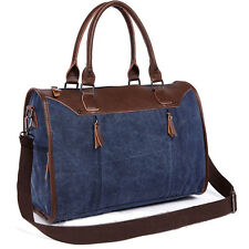 Men Vogue Canvas Handbag Shoulder Messenger bag Briefcase Travel Hiking business
