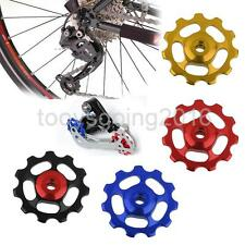 Aluminum MTB Road Bike Bicycle Jockey Wheel Rear Derailleur Pulley Replacement