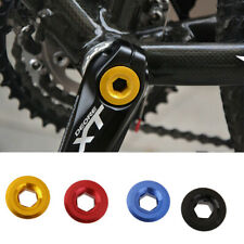 Aluminum Arm Fixing Cap Bolt Crank Chain Screw Axis For MTB BMX Bike BIcycle NEW