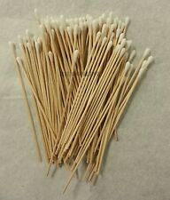300 Pc Cotton Swab Applicator Q-tip Swabs 6in Extra Long Wood Handle Sturdy New