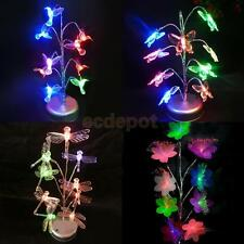Multi-colored LED Artificial Bonsai Tree Light Home Wedding Party Night Lamp