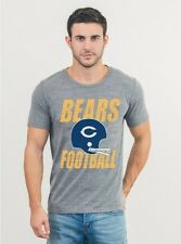 CHICAGO BEARS NFL Double Bar Football Helmet T-Shirt by Junk Food NWT 40% off!