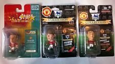 3 unopened Manchester United Headliners Corinthian Prostars football figures