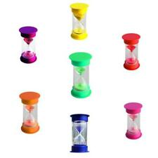 7Color Hourglass Sand Glass Sand Timer Kitchen Clock Games Timer Ornaments Gift