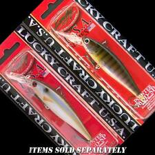 Lucky Craft Pointer 78 DD jerkbait bass fishing lures.