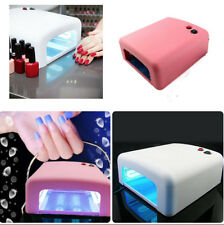 WNB 36W Professional Salon UV Gel Nail Curing Lamp Light Dryer w/ Timer (4Bulbs)