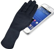 NOMEX DuPont TOUCH SCREEN LEATHER PILOT FLYERS FIRE HEAT RESISTANCE GLOVES