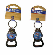 Oklahoma City Thunder Bottle Opener Key Chain 2016 NBA Playoffs - Your choice