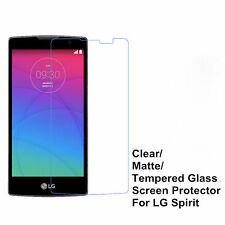 Clear/ Matte/ Tempered Glass Screen Protector Film Guard For LG Spirit C70 H422