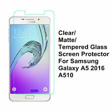 Clear/Matte/Tempered Glass Screen Protector For Samsung Galaxy A5100 A5 (2016)