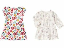 Gymboree Tiny Panda Baby Girl Dress- Fleece Floral or Button Print 3 6 12 18 NWT