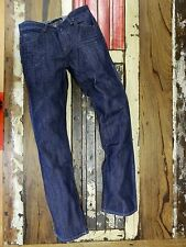 Mens Low Rise Straight Leg Denim Jeans
