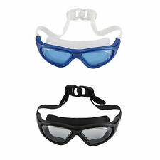 Swim Goggle With Anti-Fog UV Protective Plain Mirrored Curve Lens For Adult BG