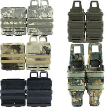 Airsoft Tactical Fast Mag Pouch Holster 5.56 7.62 Magazine M4/M14 Rifle MOLLE GY