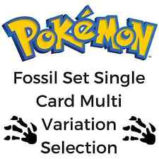 Fossil Set Single Card Selection - Pokemon Trading Card Collectable Game (1999)