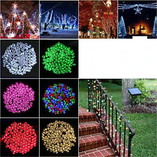Electric/Solar/ 100-800LED String Fairy Light Lamp Christmas Wedding Party